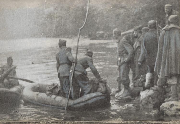 DPD prelazi Pivu, kraj maja 1943.