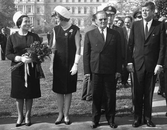 Jovanka, Žaklina, Tito i Kenedi