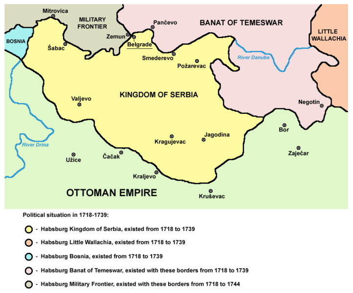 Serbia-1718-1739