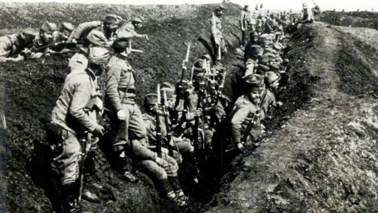 Резултат слика за probijanje solunskog front