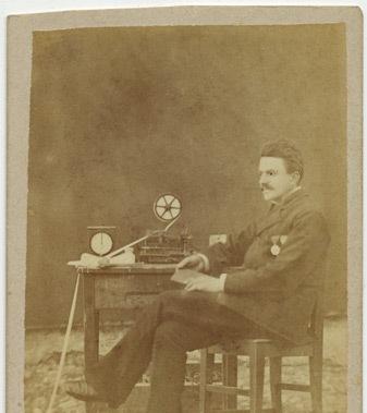 Sava M. Stojanović - telegrafista, 1879