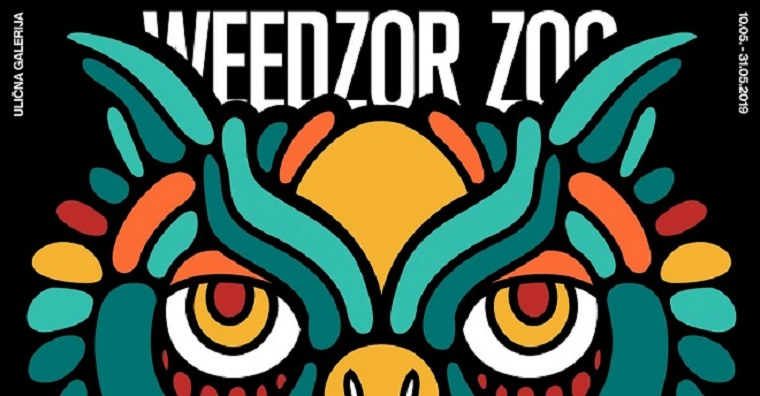 Ulična galerija: Ivan Vidović – Weedzor Zoo